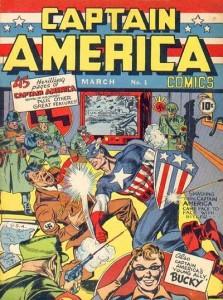 Captain America by Joe Simon and Jack Kirby, ©1941