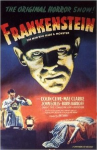 Frankenstein directed by James Whale, ©1931