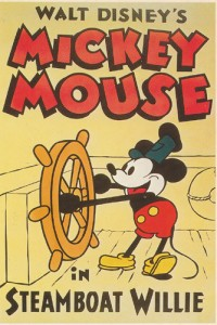 Mickey Mouse by Walt Disney and Ub Iwerks, ©1928