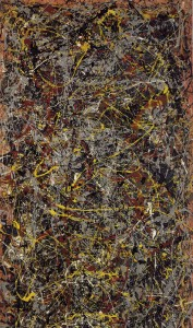 """No. 5, 1948&rquot; by Jackson Pollock ©1948"